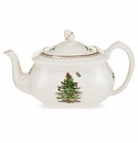 Spode Christmas Tree Ribbons Teapot
