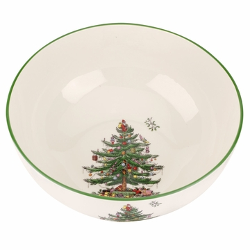 Spode Christmas Tree Round Bowl Lg