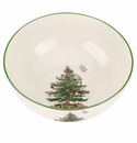 Spode Christmas Tree Round Bowl Large