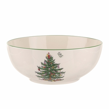 Spode Christmas Tree Round Bowl Med