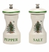 Spode Christmas Tree Salt and Pepper Grinder Set