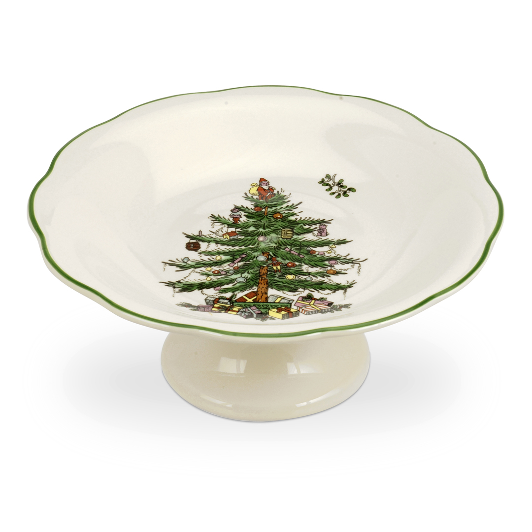 Spode Christmas Tree China Sale: Spode Christmas Tree Sculpted Footed Dish $25, You Save $25.00