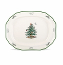 Spode Christmas Tree Sculpted Platter