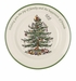 Spode Christmas Tree Sentiment Plate Round