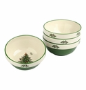 Spode Christmas Tree Stacking Bowls Set of 4