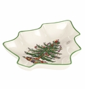 Spode Christmas Tree Tree Shape Dish