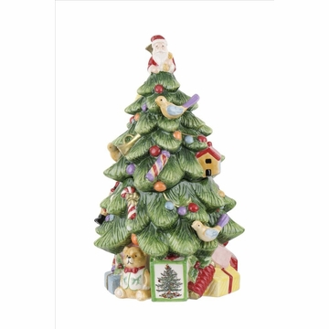 Spode Christmas Tree Tree-shaped Cookie Jar