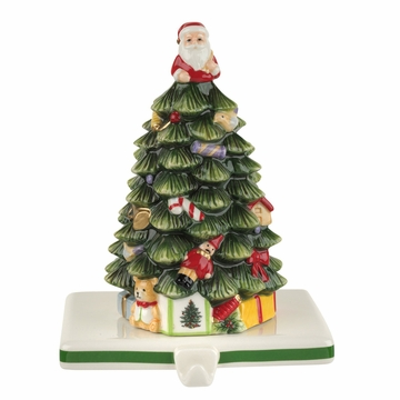 Spode Christmas Tree Tree Stocking Holder