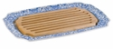 Spode Judaica Challah Tray with Wooden Insert