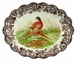 "Spode Woodland 14.5"" Oval Fluted Dish - Pheasant"