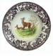 "Spode Woodland 9"" Rimmed Soup Bowl with Deer Design"