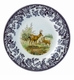 "Spode Woodland American Wildlife Collection 8"" Salad Plate - Mule Deer"