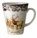 Spode Woodland American Wildlife Collection Winter Scenes 11 oz Beverage Mug - Elk