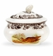 Spode Woodland Covered Sugar Bowl - Snipe & Pintail Design