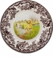 "Spode Woodland Hunting Dogs 10.5"" Dinner Plate - Labrador Retriever (Yellow)"
