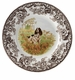 "Spode Woodland Hunting Dogs 8"" Salad Plate - English Springer Spaniel"