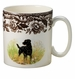 Spode Woodland Hunting Dogs 9 oz Mug - Labrador Retriever (Black)