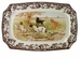 Spode Woodland Hunting Dogs Rectangular Platter - All Dogs