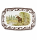 Spode Woodland Rectangular Platter - Majestic Moose