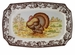 "Spode Woodland Turkey 17.5"" Rectangular Platter"