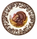"Spode Woodland Turkey 8"" Salad Plate"