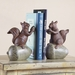 Squirrel And Acorn Bookends by SPI Home