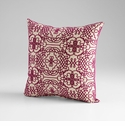 St. Lucia Purple Decorative Pillow by Cyan Design