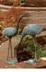 Stately Garden Cranes  Sculptures by SPI Home