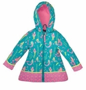 Stephen Joseph All Over Print Child's Raincoat Mermaid