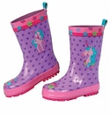 Stephen Joseph Child's Rainboots Unicorn