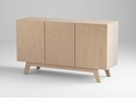 Stevens Modern 3 Door Media Cabinet by Cyan Design