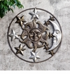 Sun Moon And Stars Wall Plaque by SPI Home