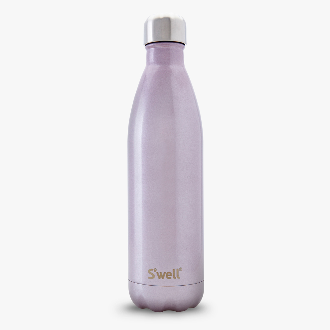 Swell water bottle 25oz pink champagne for Swell water bottle 25oz