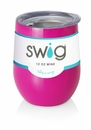 Swig 12 Oz Stemless Wine Cup Berry