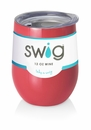 Swig 12 Oz Stemless Wine Cup Coral