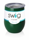 Swig 12 Oz Stemless Wine Cup Green