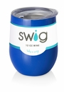 Swig 12 Oz Stemless Wine Cup Royal Blue