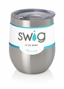 Swig 12 Oz Stemless Wine Cup Stainless