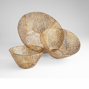 Sydney Iron Weave Decorative Bowls by Cyan Design