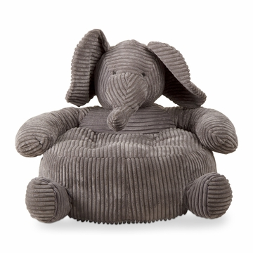 Tag Elephant Corduroy Plush Chair