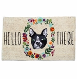 Tag Hello There Dog Coir Door Mat