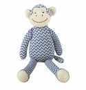 Tag Knit Monkey Plush