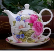 Tea for One Stacking Teapot Sets