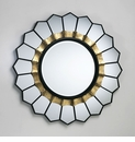 Tempe Sun Beveled Wall Mirror by Cyan Design