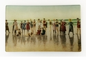 The Smith Family Beach Vacation Decorative Glass Plate by Working Title