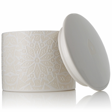 Thymes Ginger Bread 3-wick Ceramic Poured Candle