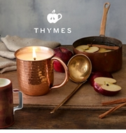 Thymes Simmered Cider Holiday Fragrance