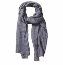 Tickled Pink Insect Shield Scarf - Grey Floral