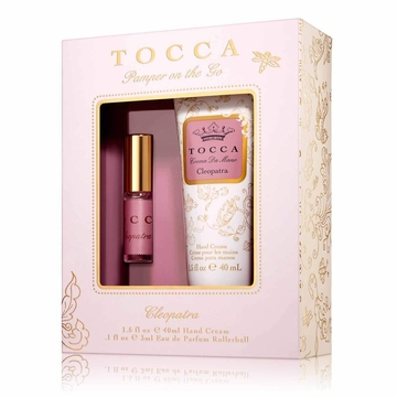 Tocca Cleopatra Pamper on the Go (1.5oz Handcream & 3ml Rollerball)