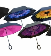 Topsy Turvy Inverted Umbrellas